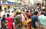 Enthusiastic Bihu shoppers thronging markets, fairs
