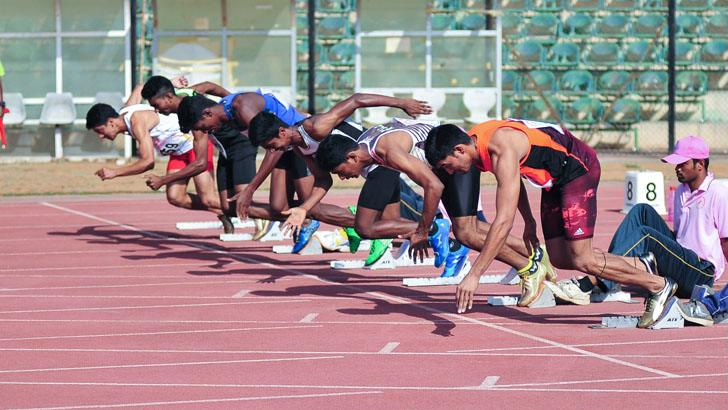 Covid protocol goes for a toss at Guwahati National Jr Athletics