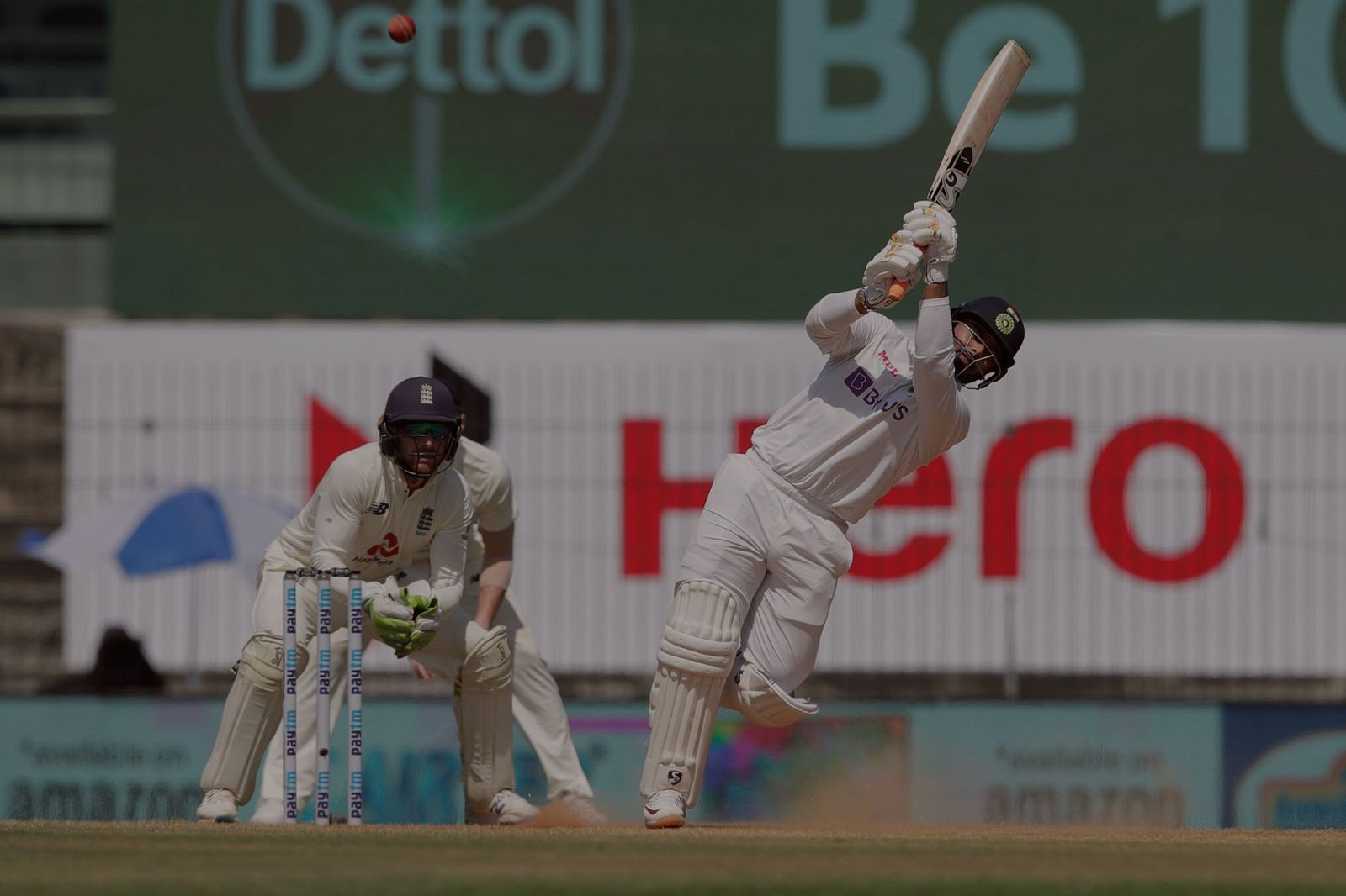 Pant soldiers on to take India to 153/6 at tea