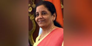 Finance Minister Nirmala Sitharaman Tables Economic Survey 2020-21 In Lok Sabha