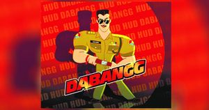 Dabangg, In Animation Now