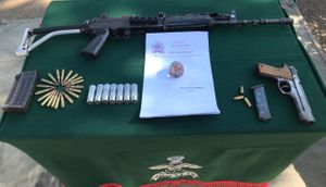 Manipur: Police Rifle And Ammunition Recovered