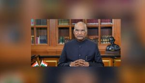 President Kovind Extends Wishes To People Of Manipur, Meghalaya And Tripura On Statehood Day