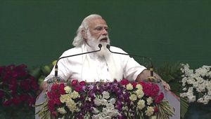 It is always special to be in Assam: Modi