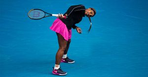 Serena through easily in 1st Oz Open tuneup
