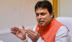 Opp slams Tripura CM's statement on 'BJP keen to expand in Nepal, SL'