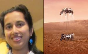 Indian-American Swati Mohan spearheads NASA rover landing on Mars
