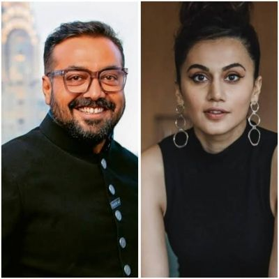 Anurag Kashyap, Tapsee Pannu, Vikas Bahl raided by Income Tax